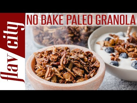 How To Make Granola Without An Oven Paleo & Vegan Granola Recipe