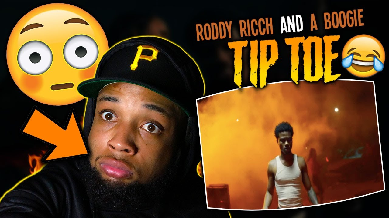 HE'S ON FIRE!!! Roddy Ricch - Tip Toe feat. A Boogie Wit Da Hoodie [Official Music Video] | REA
