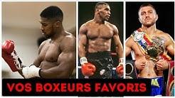 LIVE : nos boxeurs préférés