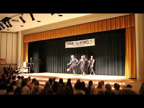 Mercy High School BASE African Dance 2015