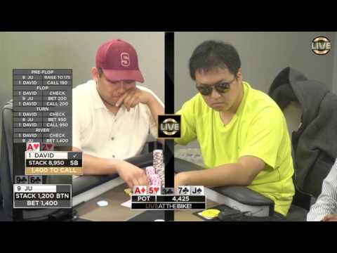 Another Triple Barrel Bluff, Can David Chan Call? ♠ Live at the Bike!