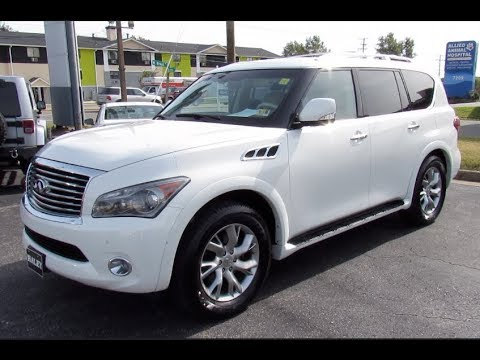 *SOLD* 2011 Infiniti QX56 4WD Walkaround, Start up, Tour and Overview