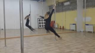 Pole dance Exotic (танцы на пилоне) в школе танцев Study-on, Челябинск 2017