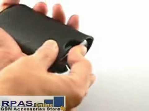 Slide Leather Case for LG KC910 Renoir