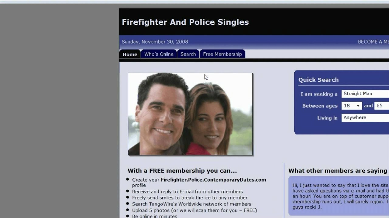 Free Online Hookup Sites For Police