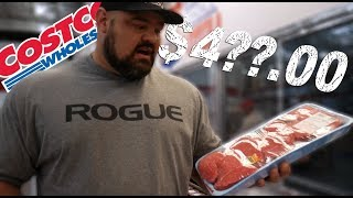 COSTCO FOOD SHOPPING TRIP | 4X WSM BRIAN SHAW