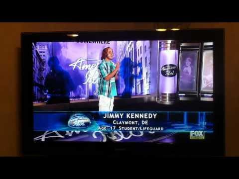 American Idol Jimmy Kennedy Hilarious Audition