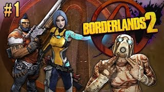 Borderlands 2 Gameplay / Let's Play Session #1 w/Girlfriend - PRO DRIVING!