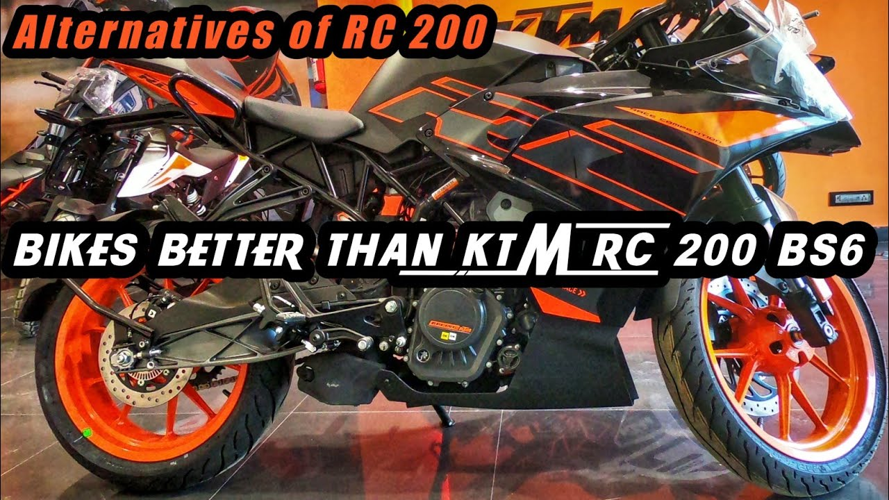 Top 3 Bikes Better Than KTM RC 200 BS6 | KTM RC 200 BS6 Alternatives | K2K Motovlogs