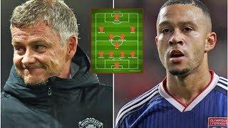 How Man Utd could look if Ole Gunnar Solskjaer seals Memphis Depay transfer- transfer news today