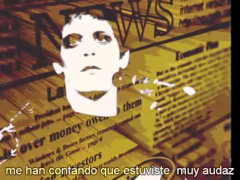 Lou Reed Satellite of Love subtitulada