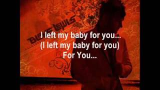 Blake Lewis - Left My Baby For You (With Lyrics)