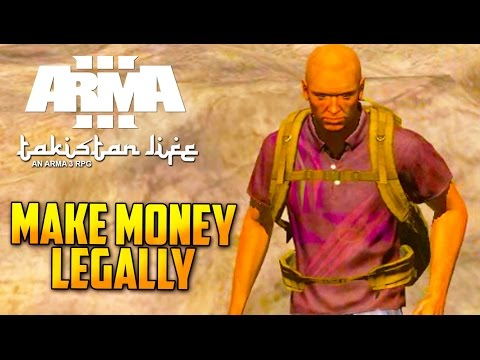 Arma3 Altis Life Tutorial - Earn money fast - how to excavate