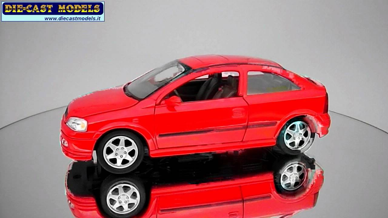 Opel Astra 2000 Welly 1 24 Youtube