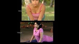 Indian beautiful girl yoga practice