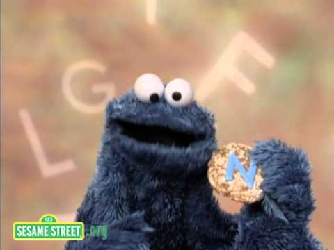 sesame street letter of the day sesame cookie s letter of the day n 10711 | hqdefault
