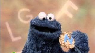 sesame street cookie s letter of the day n