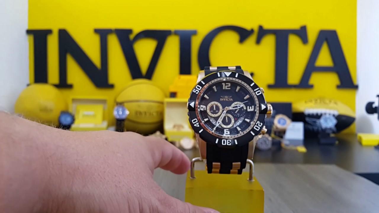 f668697c408 Relógio lançamento invicta pró diver 23702 www.lojadosrelogios.com whatsapp  4196103639