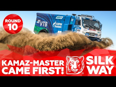 KAMAZ-master came first! Motorcyclists' race and new records | Silk Way Rally 2019🌏 - Stage 10