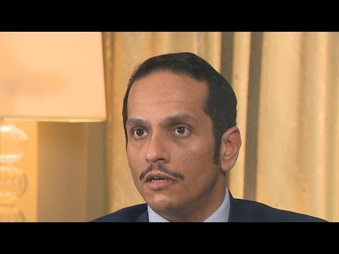 """Qatari FM says Trump """"wrong"""" to say his country supports terrorism"""