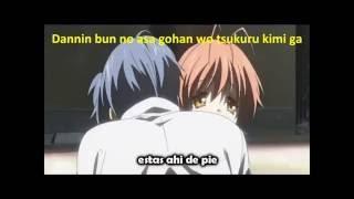 Opening Clannad after story subtitulada español con letra