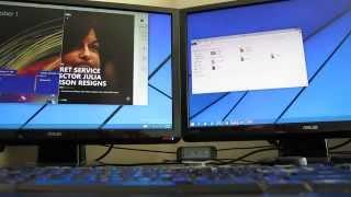 Windows 10 - Snap, Desktops, and Multi-Monitor