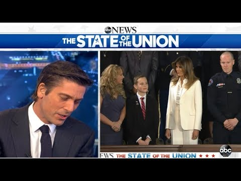 DAVID MUIR, State of the Union 2018 (01.30.18)