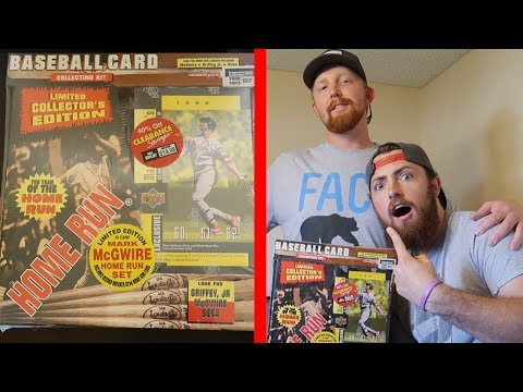 HE WAITED 20 YEARS TO OPEN THESE! 1998 Upper Deck Baseball Box Opening