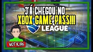 ROCKET LEAGUE CHEGOU NO XBOX GAME PASS!!!