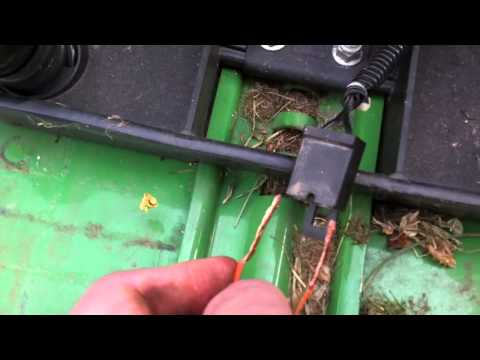 How To Disable Seat Safety on John Deere Riding Mower - YouTube