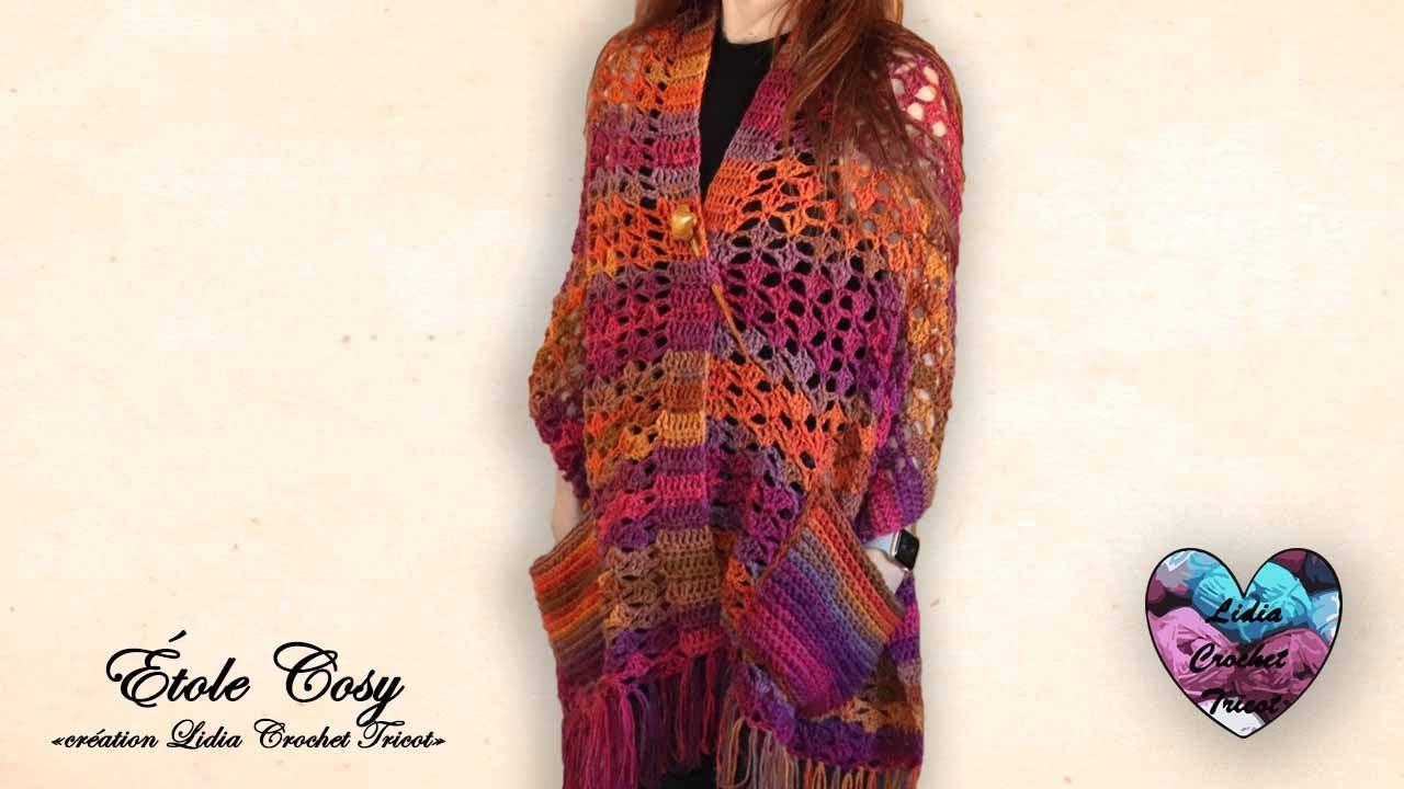 etole cosy facile crochet lidia crochet tricot