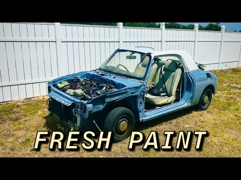 Nissan Figaro Fresh Paint Job Part 5