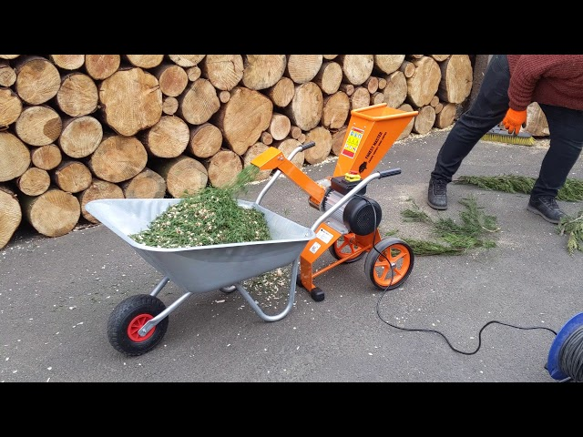 Compact 4HP Electric Wood Chipper - Garden Shredder (FM4DDE)
