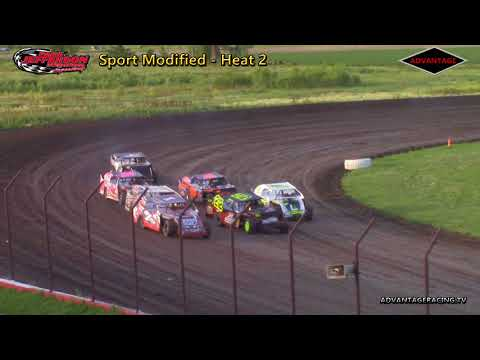 Sport Modified Heats - Park Jefferson Speedway - 6/9/18