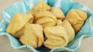 ВКУС ДЕТСТВА. Идеальное ТВОРОЖНОЕ ПЕЧЕНЬЕ! Очень вкусное печенье «Творожные конвертики»