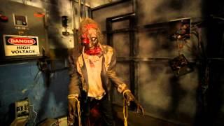 Factory of Terror part 1 HAuNTcon 2012 haunted house convention