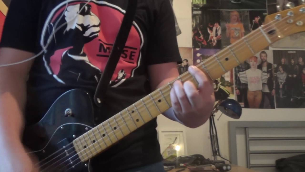 Green Day Basket Case Guitar Cover Chords Dcc7 Youtube