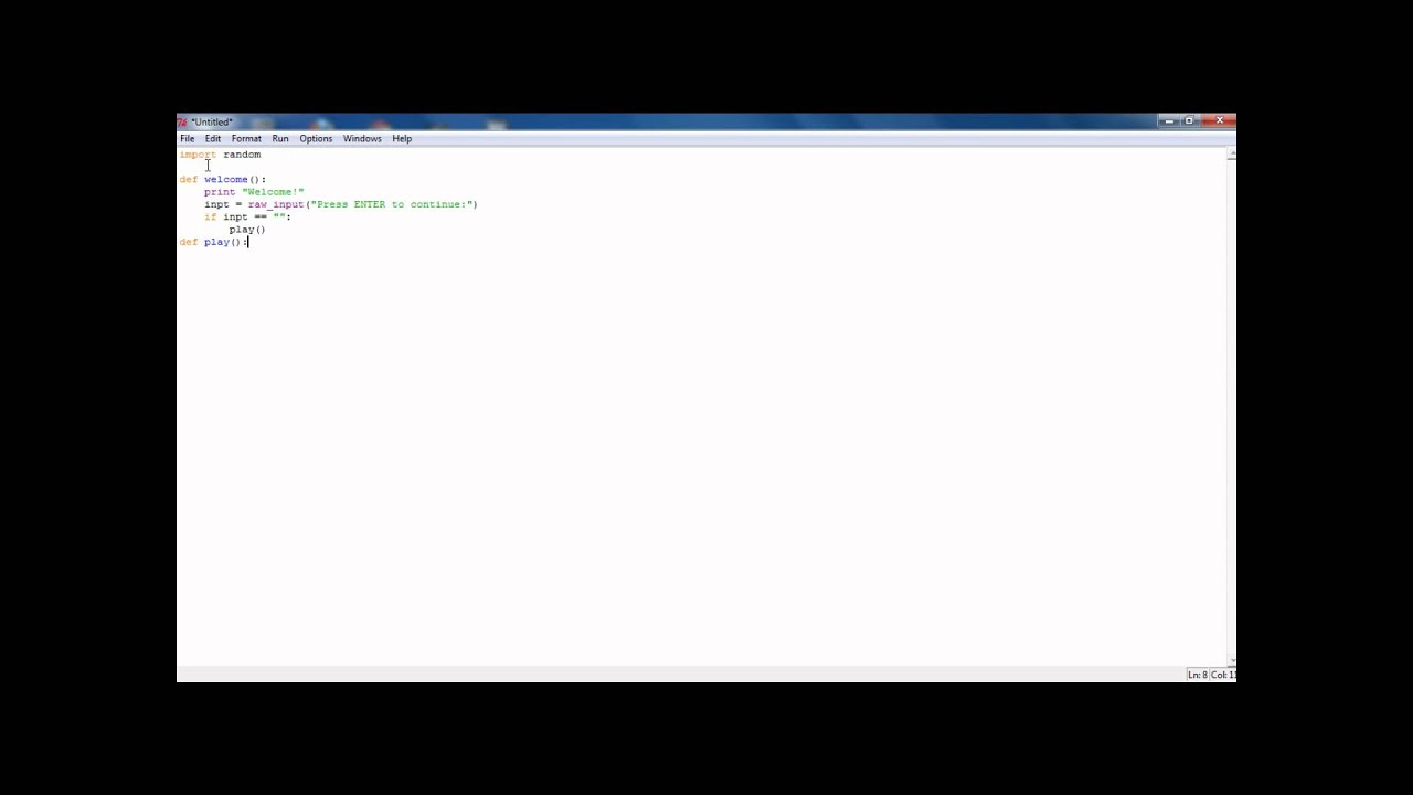 how to make a text based adventure in python