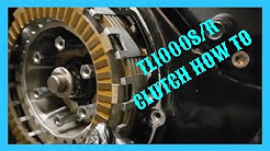 Suzuki TL1000s Clutch Change (How To)