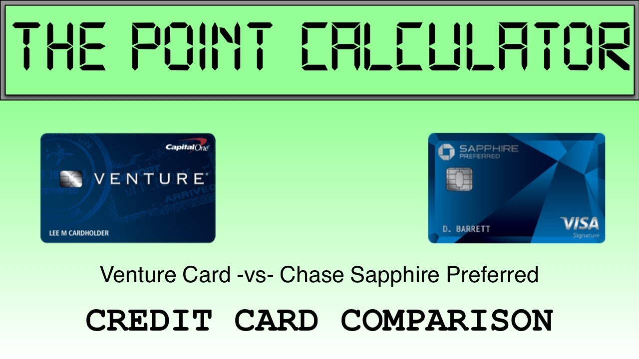Capital One Venture Vs Chase Shire