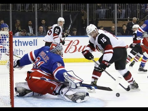 Arizona Coyotes vs New York Rangers - October 26, 2017 | Game Highlights | NHL 2017/18
