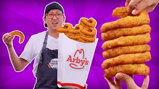 DIY Giant Arby's Curly Fries