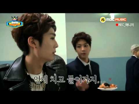140326 Kidoh and Jin #KimSeokJinHyoSang #김석진효상