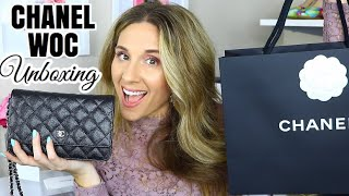 CHANEL WALLET ON CHAIN UNBOXING 2019