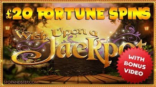 Wish Upon a Jackpot ** £20 Fortune Spins **