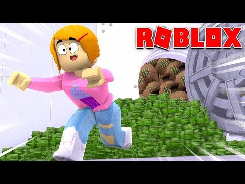Roblox Rob The Bank Obby Walkthrough Roblox Escape Rob The Bank Obby Youtube
