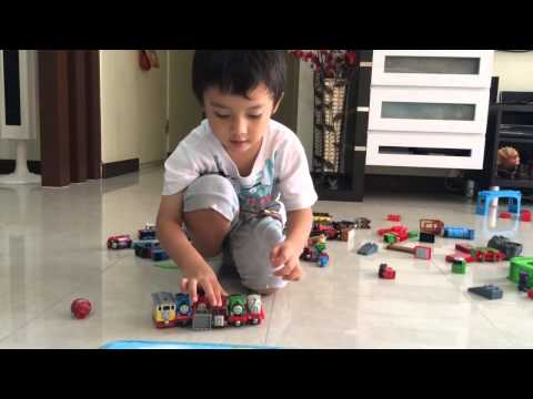 Casey's Thomas the Tank Engine and Friends Demonstration