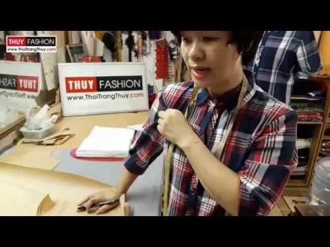 Dậy cắt may : Thiết kế tay áo sơ mi nữ tại Thời Trang Thủy Hải Phòng