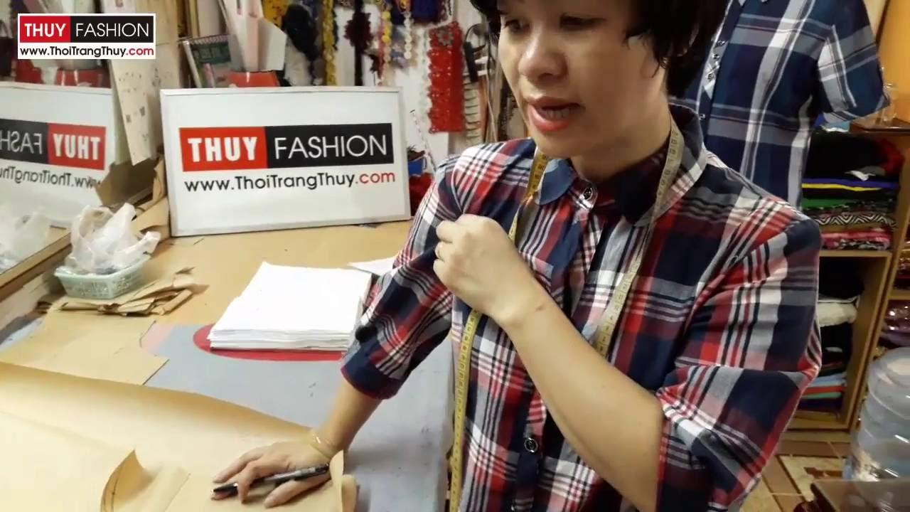 Dậy cắt may : Thiết kế tay áo sơ mi nữ tại Thời Trang Thủy Hải Phòng | Tất tần tật thông tin về thời trang nữ