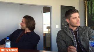 Supernatural Set Visit 2015 - Jensen Ackles & Jared Padalecki Outtakes
